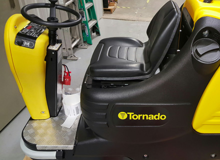 Welcome To Tornado Industrial Cleaning Equipment